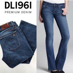 DL1961 Jennifer High Rise Boot Cut Jeans